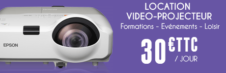 Location de vidéo-projecteur - Manche et Calvados
